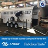 horse trailer with ramp door,standard horse float,