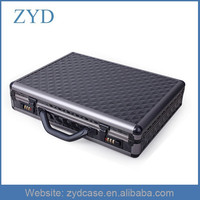 Diamond Aluminum Business Case For Laptop, Hard Case Attache Briefcases ZYD-LX92301