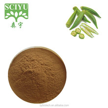 Factory supply chinese dried okra extract powder