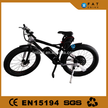 off road electric bike fat tire mountain bike with 48v 11.6ah lithium battery