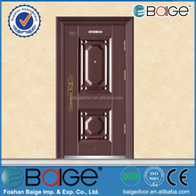 BG-S9233 steel case doors/door handles for steel doors/industrial steel doors