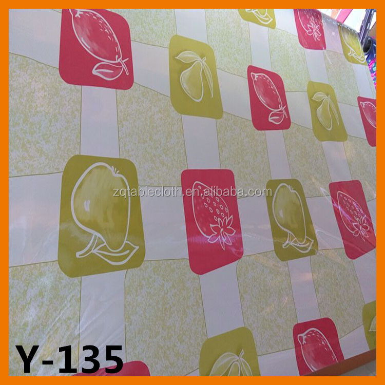 PVC vinyl oilcloth tablecloth popular beautiful new design