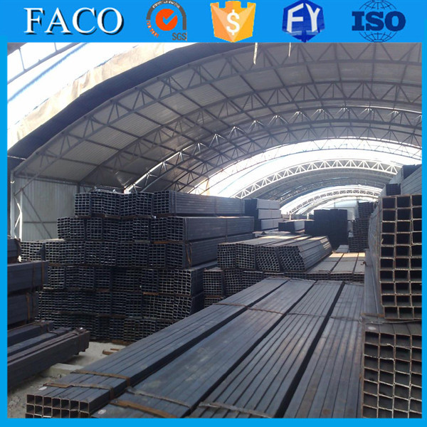 Tianjin square rectangular pipe ! steel pipe production line q235 q345 cold rolled steel volume