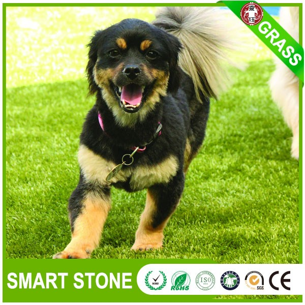 Durable natural garden carpet grass dog loved artificial grass