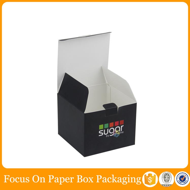 black gift box suppliers gourmet candy packaging