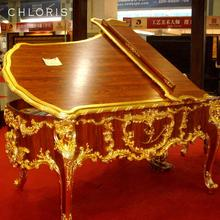 New!!! Luxury Gold piano and walnut Grand Piano GP-2 for sale, Luxurious <strong>furniture</strong> and for sale piano
