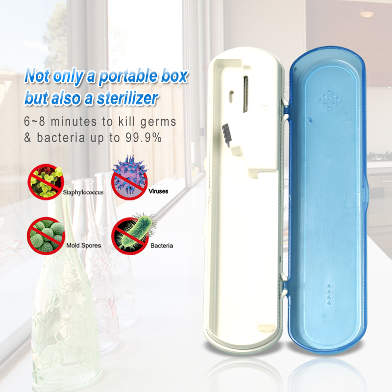 dental Portable UV Toothbrush Sanitizer sterilizer SG109