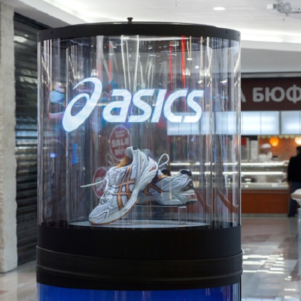 Transparent 360 Led Display, Mirage Totem, Led glass