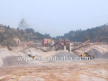 WELLINE newly designed basalt Crushing Plant for highway construction