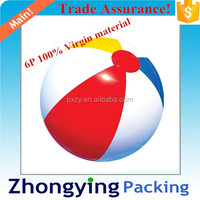 Funny Play Plastic Inflatable Ball With