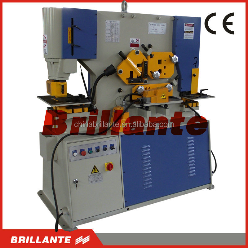 Hydraulic metal cutter closed loop hydraulic, cnc controller , cnc hydraulic punch & shear machine