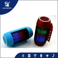 Professional electric wireless loudest bluetooth portable led light speaker