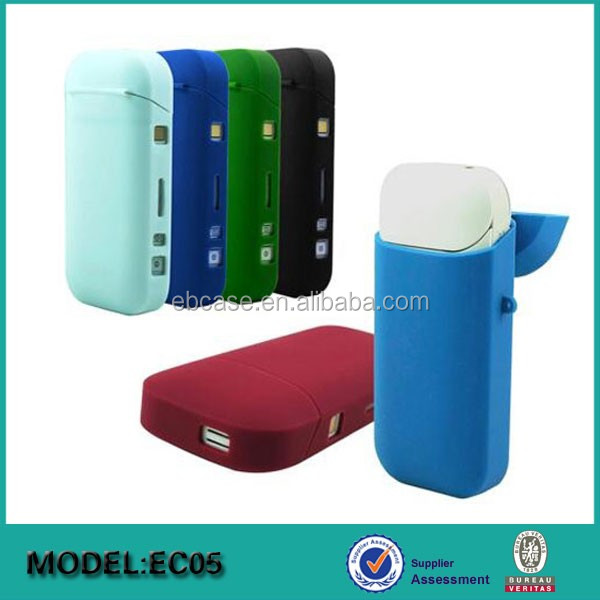 360 degree full protection silicon skin cover case for iQOS Electronic Cigarette