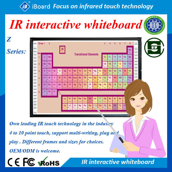 iBoard newest TE-IT series IR interactive touch monitor