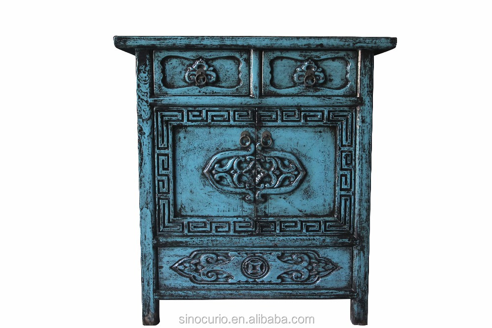 Chinese antique furniture storage cabinet/carved storage cabinet/wooden storage cabinet