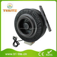 Hydroponic System Ventilation Inline Exhaust Air Duct Fan