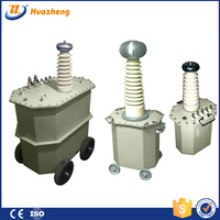 Big volume 10kV~300kV Oil immersed HV Testing Transformer