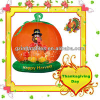 happy harvest inflatable turkey balloon for Thanksgiving Day