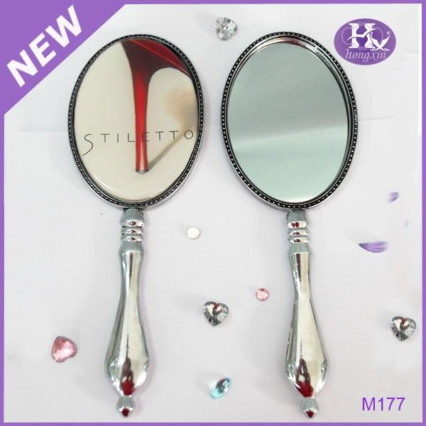 M177 wholesale diamond handheld hand held mirrors buy for Wholesale mirrors