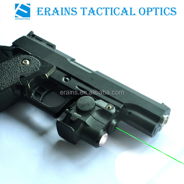 Super compact tactical subzero working green laser sight with 180 lumens CREE Q5 led laser flashlight