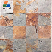 Hot Sale Rusty natural slate outdoor flooring tiles