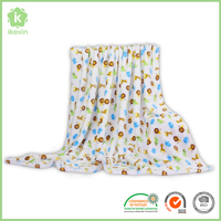 100 Polyester Anti Static Thermal Flannel Blanket