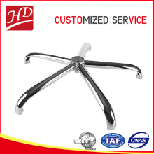 Swivel easy metal bar stool furniture base , metal injection molding parts