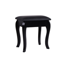 NEW Beautiful Black Mirrored Dressing Table Stool Seat Bench Bedroom <strong>Furniture</strong>