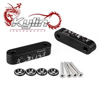 Ryanstar Billet Aluminum Hood spacer Risers with fender washers For h auto