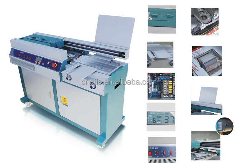 A4 book binding machine,book binder,magagine binding