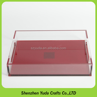 Acrylic Serving Tray For Fruits Hotel