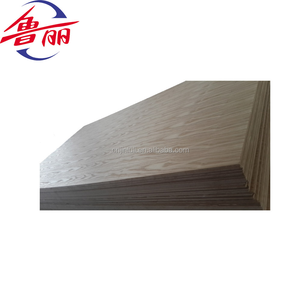 17mm teak veneer mdf board wood for decoration