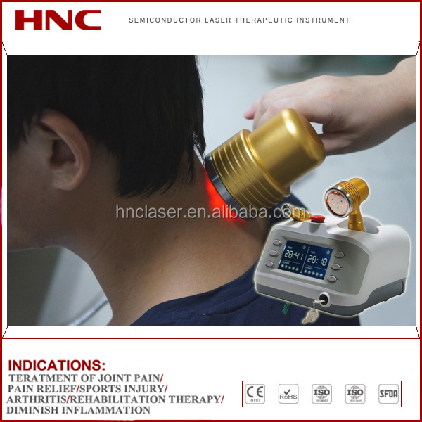 Wholesale factory offer medical laser 808nm physiotherapy instrument for pain relief, knee arthritis, soft tissues recovery