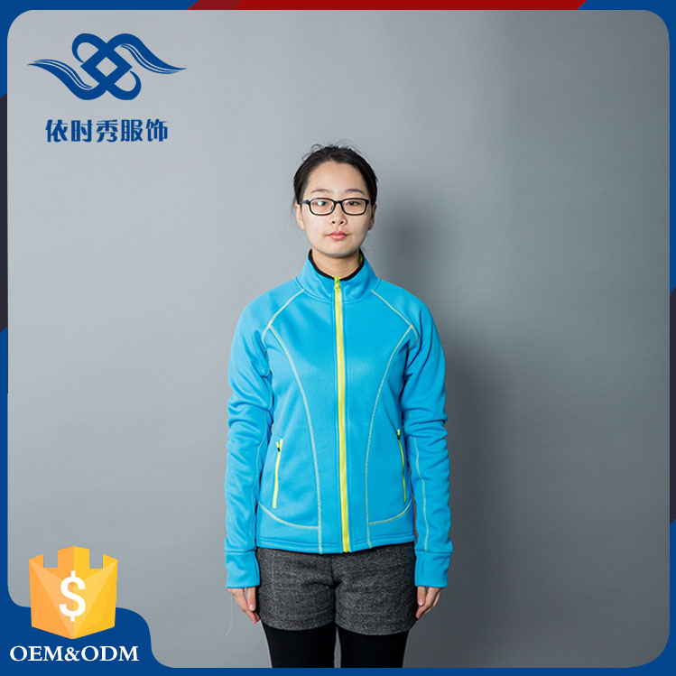 Hot sale bamboo suit sportswear support custom training softshell jacket