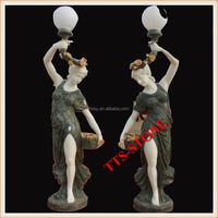 Garden Decoration Figure Lamp Statue
