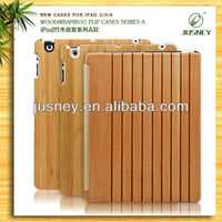 Natural Simple Style new bamboo wooden Case For Ipad2/3/4