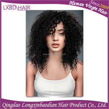 best selling products deep curly indian human hair sew in weave, human hair beyonce weaving
