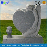 Classic Angel Heart Tombstone and Monument