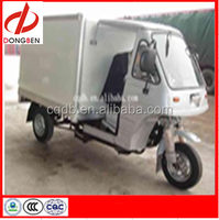 200cc Gasoline Motorized Cargo Tricycle With Closed Box