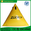 Triangular Shape Inflatable Buoy For Water Tirathlons Advertising