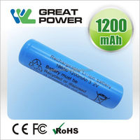 Low price hot sell 18500 rechargeable lifepo4 battery