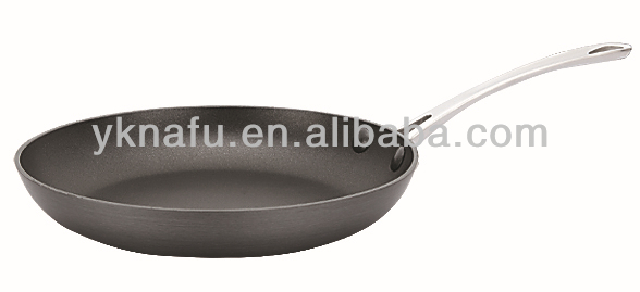 korea aluminum non stick hard anodized fry pan