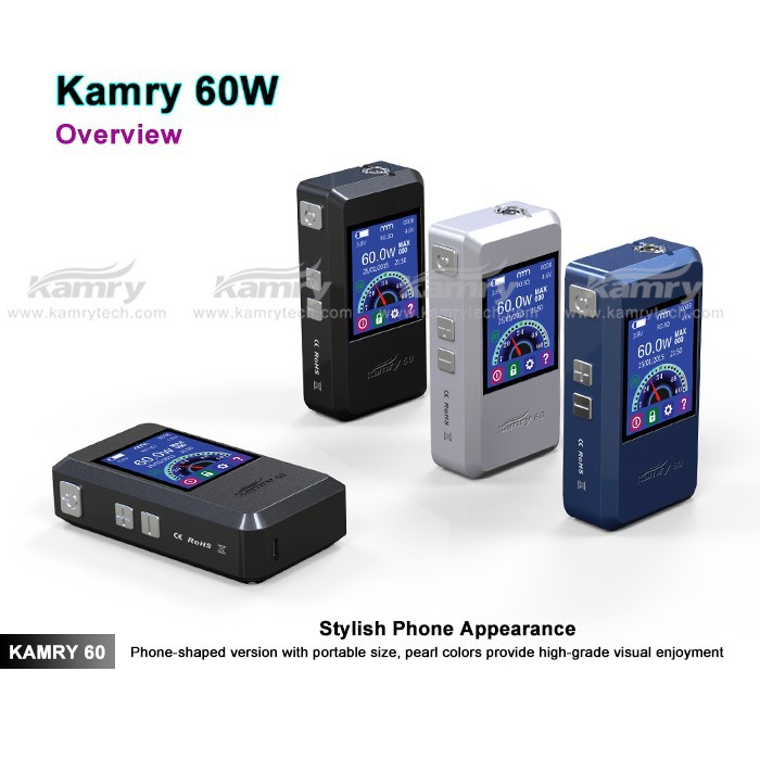 2015 Magic powerful VV VW mod vape electronic cigarette variable voltage ecig kamry box mod 60watt ecig