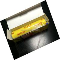 print your brand stretch wrap/plastic clear soft wrap/pvc cling film OEM