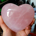 Romantic rose quartz crystal shaped hearts for lovers crystal hearts wedding gifts