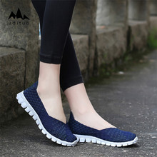 Lazy Shoes Breathable Comfortable Women Hand Woven Flat Shallow Mouth Shoes
