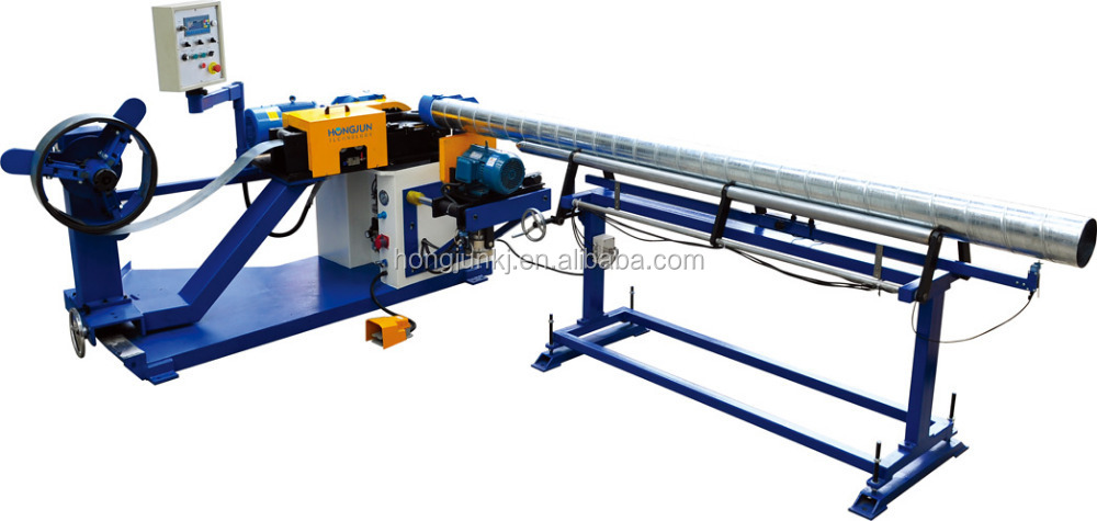 HJTF1500F Spiral duct machine, ductwork supplies