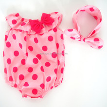Latest design kids clothing wholesale organic cotton baby rompers wholesale baby clothes