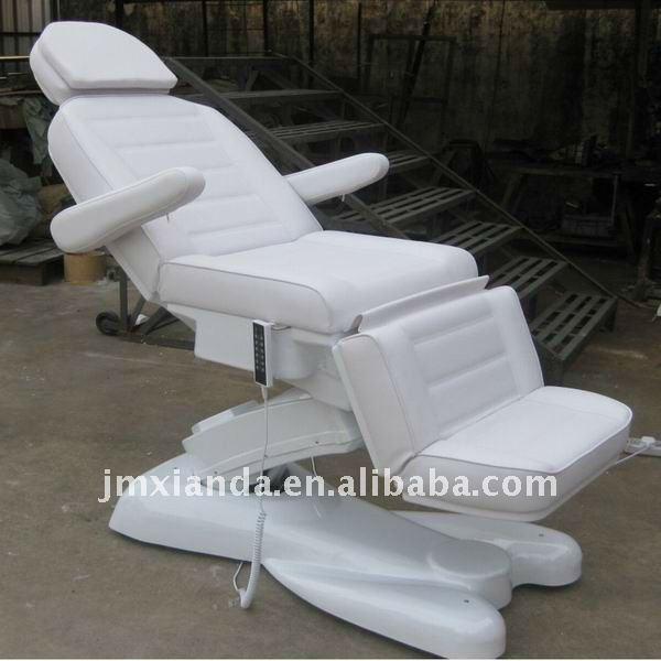 Girando 70 grados silla cama facial el ctrica con 6 for Sillas para facial