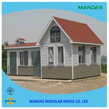 2015 China Prefabricated Homes Prefab Hotel and Vila cheap the Prefab House for sale